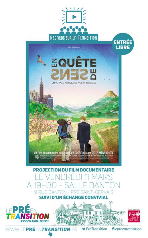 Invitation film En quête de sens